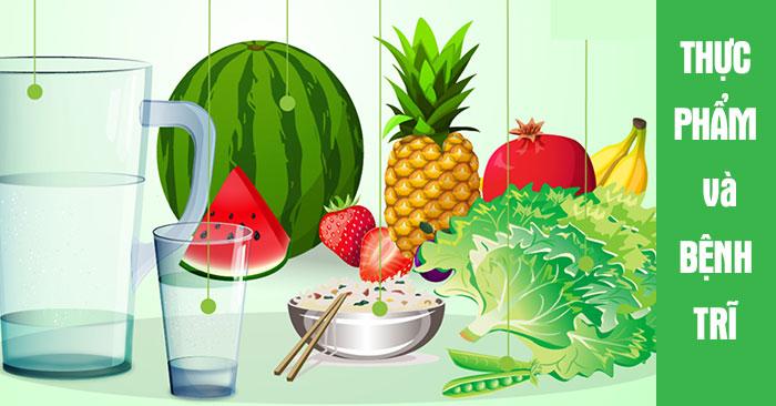 Thực phẩm tốt cho người bị bệnh trĩ