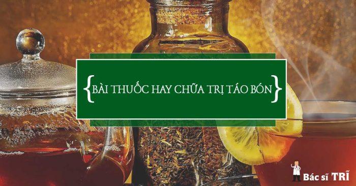 Bài thuốc chữa trị táo bón từ thảo dược thiên nhiên