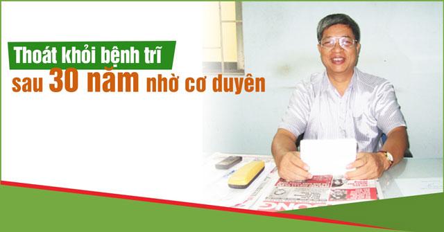 Bác Lê Xuân Kế kế về hành trình chữa khỏi bệnh trĩ của mình