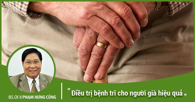 Điều trị bệnh trĩ cho người già hiệu quả