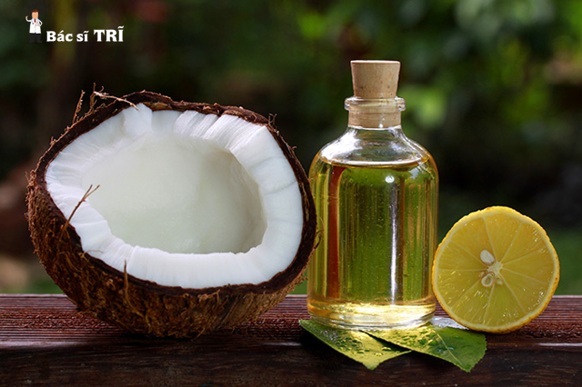 Cách chữa trĩ nội tại nhà bằng dầu dừa